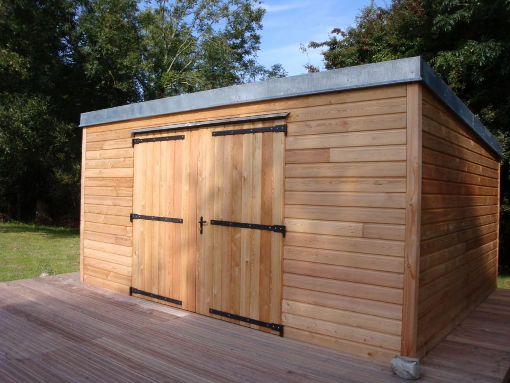 Abri de jardin pour tous meubles et maison for Autorisation de travaux pour abri de jardin